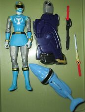 Bandai Power Rangers Legacy Ninja Storm Blue Ranger Complete