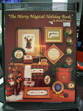 THE MERRY MAGICAL HOLIDAY BOOK CROSS STITCH PATTERN BARBARA POPKIN MICE SANTA