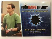 Big Bang Theory Season 5 Sheldon Cooper Wardrobe Card M8 Jim Parsons