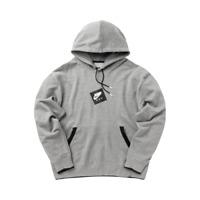 Jordan Jumpman Classics Printed Fleece Pullover Hoodie Men's Grey Black Hoody