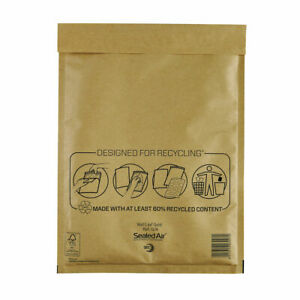 Mail Lite Bubble Lined Postal Bag Size G/4 240x330mm Gold Pack of 50 MLGG/4
