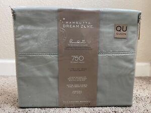Wamsutta Dream Zone 750-Thread-Count PimaCott Queen Sheet Set in Mint