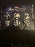 Marvel Avengers Preorder Bonus Pin Set, Gamestop Exclusive, Limited Edtion, Rare