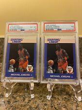Michael Jordan 1988 Kenner PSA 8 & PSA 7
