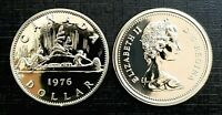 Canada 1976 Proof Like *Detached Jewels* Gem Voyageur Nickel Dollar!!