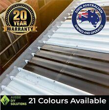 10m Trim Deck Aluminium Pro Gutter Guard Install Kit. Includes fittings.