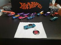 Hot Wheels Redline Custom Eldorado1968 (Restored) + Button RARE! LOOK!