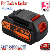 For Black Decker 20V Max 4.0Ah Lithium Ion Battery LB2X4020-OPE LBXR20 LBX20 New