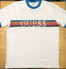 ASAP Rocky x GUESS Ringer Blue T-Shirt Size S-XL -Ships Immediately