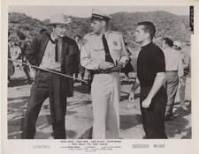 "Jeffrey Hunter in ""The Way To the Gold"" Movie Still"