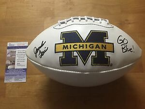 Jourdan Lewis Signed Michigan Wolverines Football JSA Coa