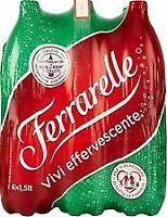 Ferrarelle Acqua Minerale Effervescente Naturale 1.5L (Confezione da 6 BOTTIGLIE