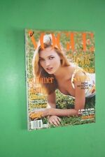 VOGUE USA JUNE 1995 AMBER VALLETTA TRAVELING IN STYLE BY BRUCE WEBER DAVID BOWIE