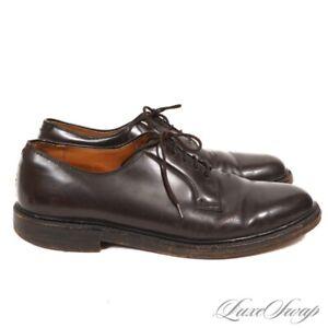 RARE Vintage Mason Shoe Chippewa Falls V-Cleat Shell Cordovan PTB Shoes USA 10 D