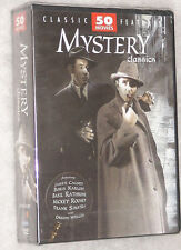 Mystery Classics - 50 Movies Detective, Thriller, Sherlock Holmes  DVD Box Set