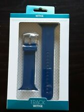 WITHit Apple Watch Navy Adult Unisex Silicone 42mm Replacement Band