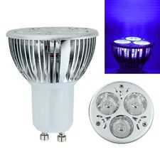 Cool High Power 3W 3x1W GU10 UV Ultraviolet Purple Light LED Bulb Lamp 85-265V