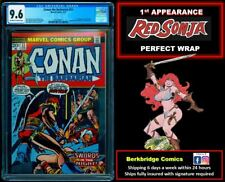 🔥 CONAN THE BARBARIAN #23 CGC 9.6 PERFECT WRAP 🔥 $ 1 SHIP W 24 OR ANY AUCTION