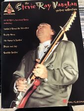 STEVIE RAY VAUGHAN GUITAR COLLECTION TAB BOOK EXCELLENT CONDITION 208 Pages USA