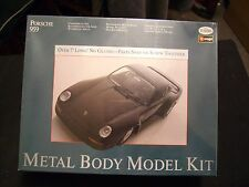 Testors Burago Ferrari Porsche Metal Body Model Kit 1/24