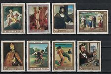 HUNGARY: Small collection of famous art (HNG03) MNH