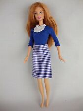 2 piece Business Suit in Blue & White for Executive Barbie Doll Ltd Edition