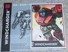 Transformers Combiner Wars WINDCHARGER figure's BIO and MANUAL