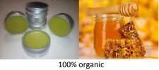 6 x HONEY Beeswax ointment balm with Olive Oil 100% organic, pure & natural 50ml