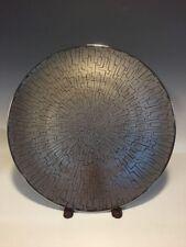 "Rosenthal TAC 02 Skin Platinum 13"" Service Plate Geometric Design"
