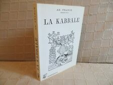 la kabbale ou la philosophie religieuse des hébreux par Franck