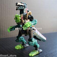 Transformers Energon Powerlinx Cruellock Dinobots 100% Complete