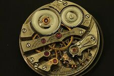 E. Howard model 1907 series 0, 23 jewel  adj. 5 positions 16 size movement only