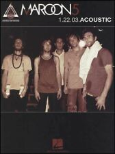 Maroon 5 1.22.03 Acoustic Guitar TAB Music Book Highway To Hell This Love