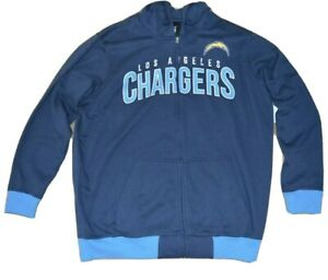 LOS ANGELES CHARGERS NFL GIII CONTRAST HOODIE & T-SHIRT COMBO-SIZE XXL-NWT