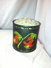 Vintage Grandmas Hand Tole Painted Pin Cushion Sewing accessary