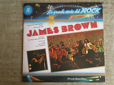 James Brown ‎– La Grande Storia Del Rock Vol. 8 Label: Curcio ‎–– LP