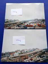 Bridlington Harbour Amateur Real Colour Photographs Both 1990s
