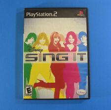 Disney Sing It  (Snoy Playstation 2 PS2, 2008)