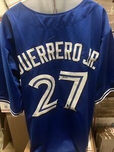 Vladimir Guerrero Jr Toronto Blue Jays signed autographed Custom Baseball Jersey