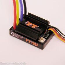 MTRONIKS TT-30 20 de vuelta, 30 Amp control verdadero Torque Esc Impermeable Para Tamiya coche