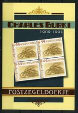 Nederland Postzegelboekjes PQ3-5 Charles Burki NVPH 2562 cat waarde € 27