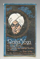 LIBRETTO Hatha-yoga L'indiano Fakir dottrina del 1921
