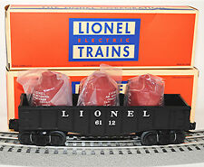 LIONEL #6112-1 Gondola with Canisters Re-Issue