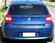 Embellecedor trasero cromado para BMW Serie 1 E81/E87