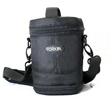 Torkia Padded Lens Case for Nikon 24-85mm, 18-105mm, 18-200mm & 70-300mm Lenses
