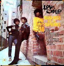 DIANA ROSS & SUPREMES - LOVE CHILD. UK Tamla Motown LP  TML 11095. '69