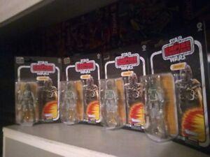 "Boba Fett Star Wars Empire Strikes Back 40th Black Series 6"" Figures LOT OF 4 !!"