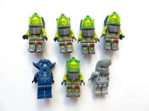 LEGO Atlantis Minifigure Bundle - Divers, Manta Warrior, Shark Warrior