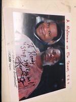Ken Sagoes Autographed Signed 8x10 Photo Nightmare On Elm street 3 & 4