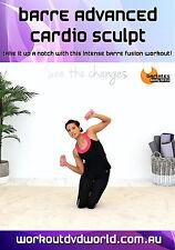 Barre Fusion EXERCISE DVD - Barlates Body Blitz BARRE ADVANCED CARDIO SCULPT